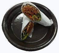 Spicy Pork Burrito