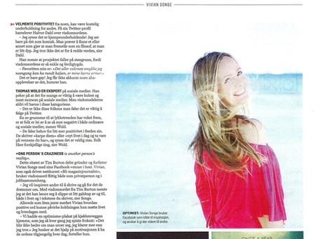 Intervju i VG Helg