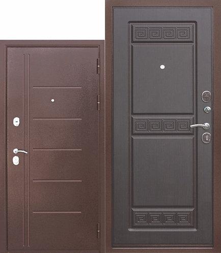 10 см. Троя Антик Венге, дверь входная.