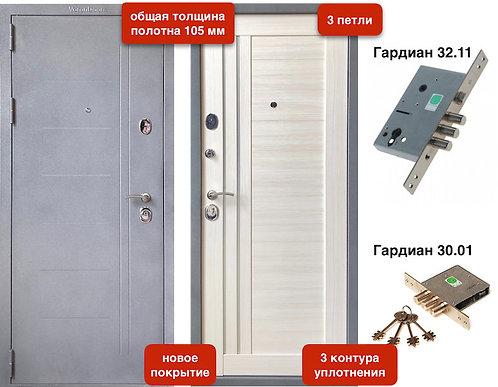 Модель VD-107 105мм Букле серый / Бьянко  3 контура