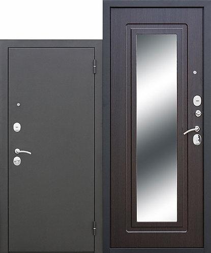 Царское зеркало Муар Венге, входная дверь.
