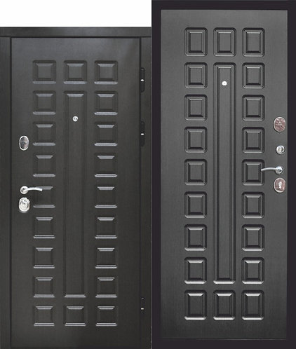 12 см СЕНАТОР МДФ/МДФ (Венге/Венге) входная дверь