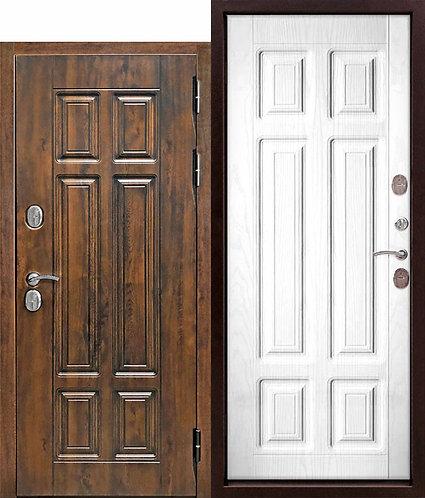 13 см Isoterma МДФ/МДФ Сосна белая Входная морозостойкая дверь c ТЕРМОРАЗРЫВОМ