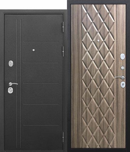 10 см Троя Муар Палисандр темный Входная дверь