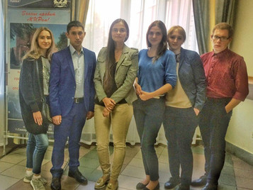 Залина Плиева  провела ряд занятий для студентов Международного института рынка