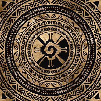 hunab-ku-mayan-symbol-black-and-gold-lio