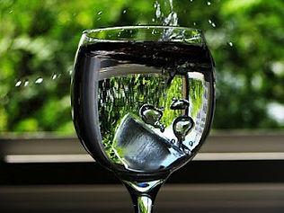 Taça de água