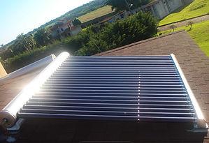 Aquecedor solar de água - tubus a vácuo