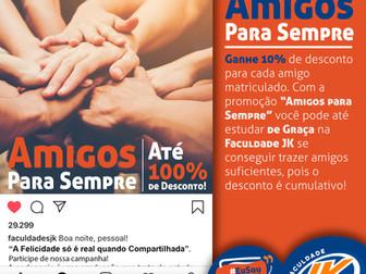 "REGULAMENTO - Campanha ""Amigos para sempre"""
