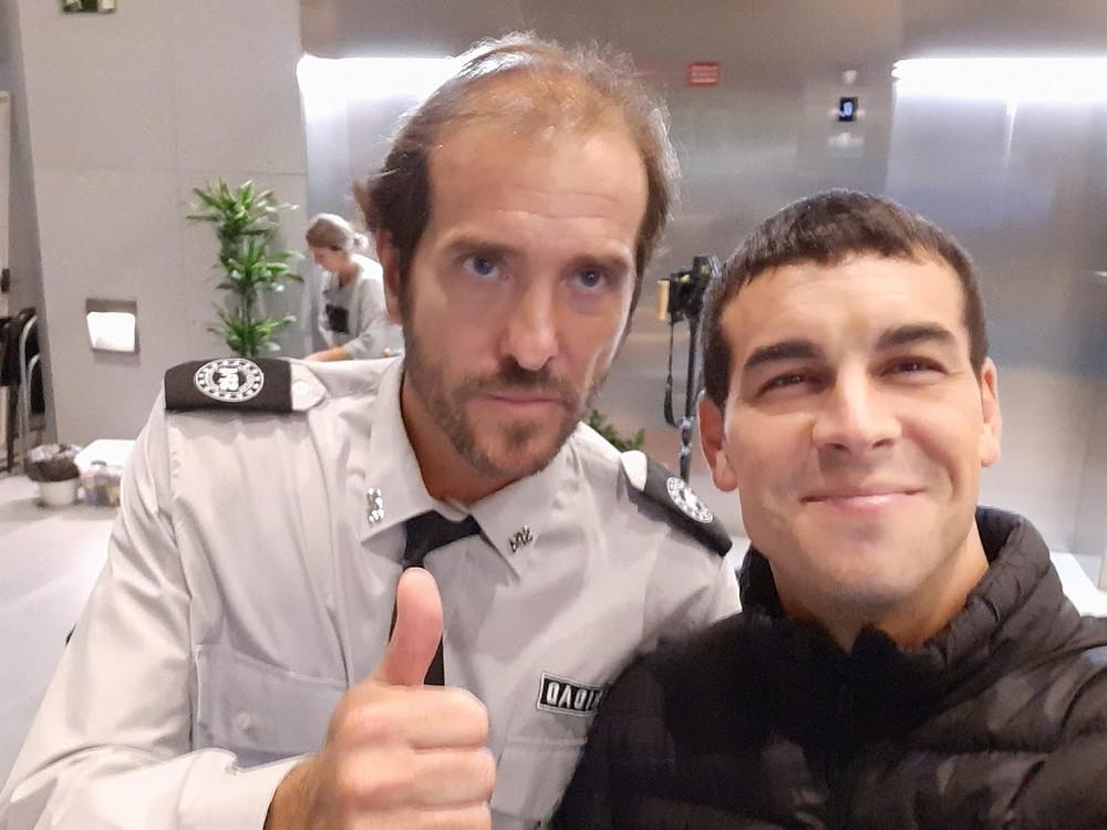 Mario Casas y Victor Solé
