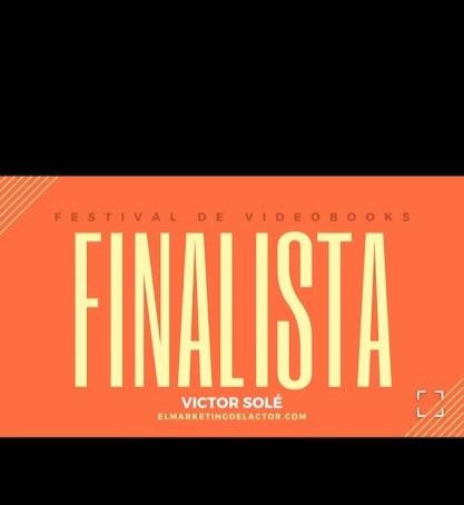 Finalista del concurso nacional de videobooks.
