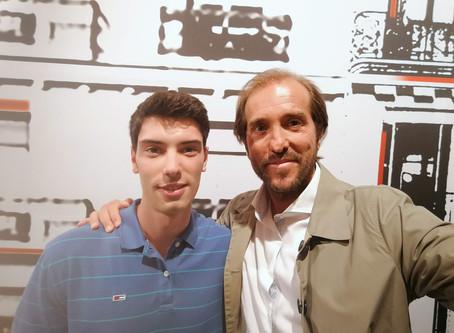 "Victor Solé, en la serie ""Com si fos ahir"" de TVC"
