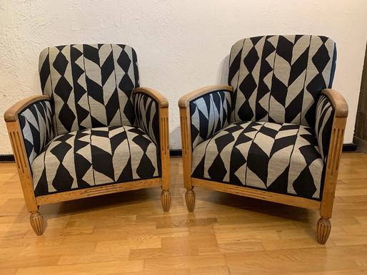 Paire de fauteuils Studio 1930