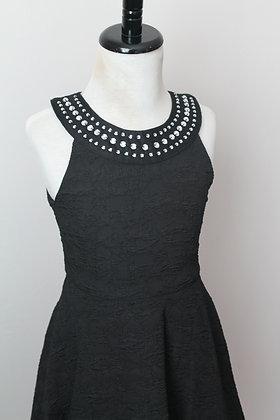 Black Dress W/Studs