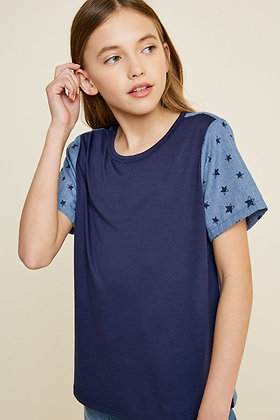 S/S Star Top