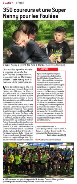 Le journal de Saône et Loire_Blanzy