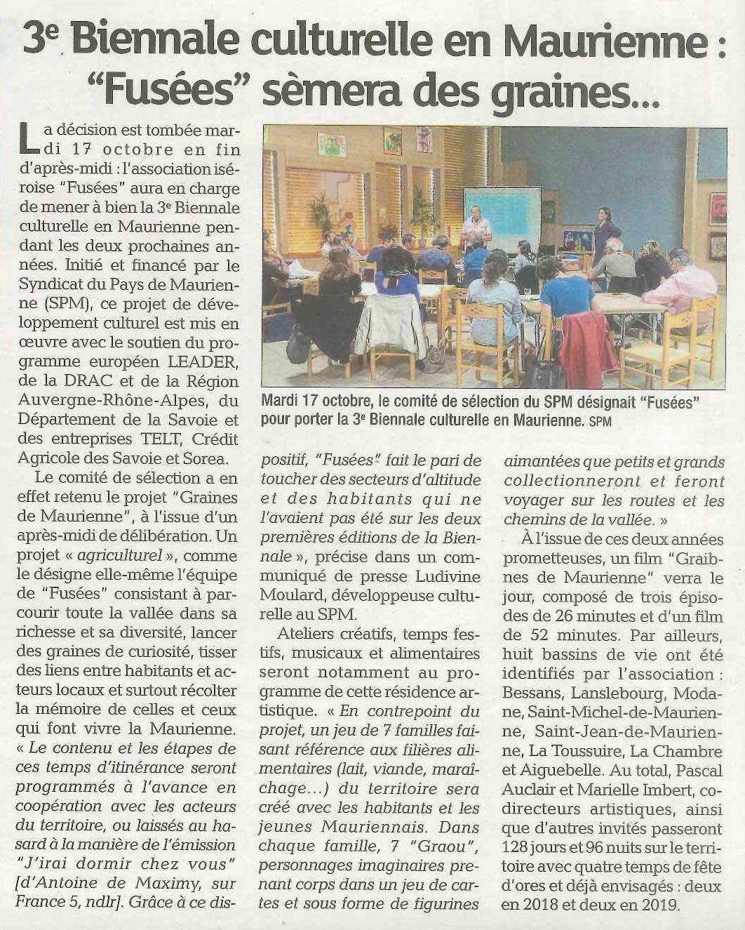 La Maurienne du 26 octobre 2017