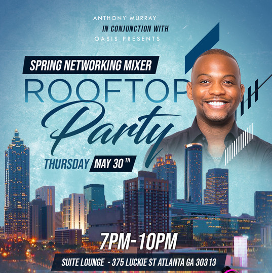 2019 Spring Networking Mixer Flyer Desig