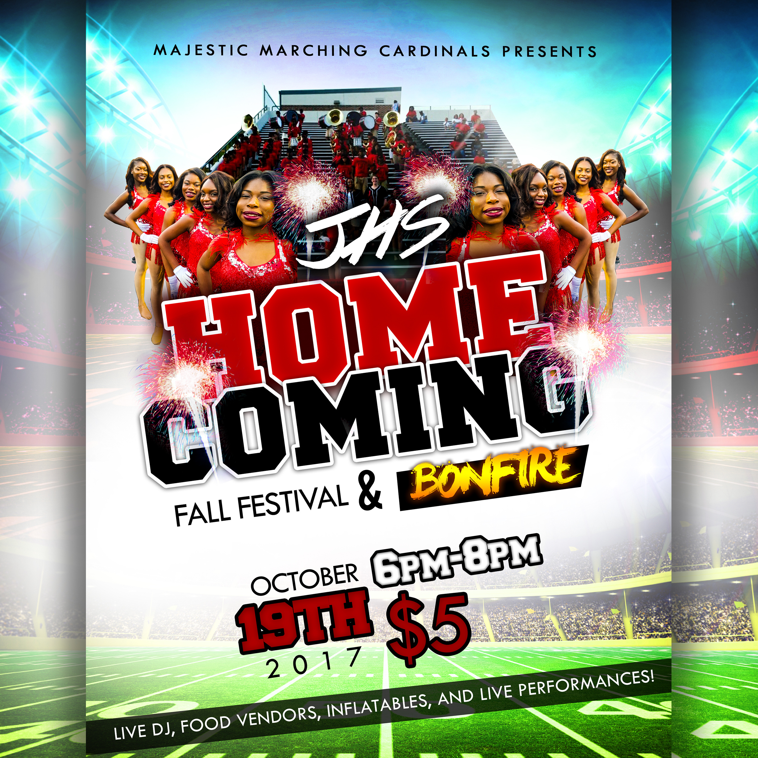 SOCIAL MEDIA - JHS Homecoming Flyer Design
