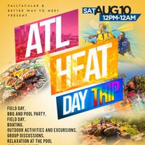 Falltacular 2019 Day Party Flyer Design.