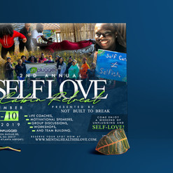 Self Love Retreat Flyer Design - Mockup.