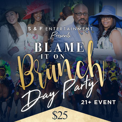 Saturday - Brunch Day Party Flyer Design