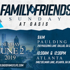 Friends and Family Sunday Flyer Design V