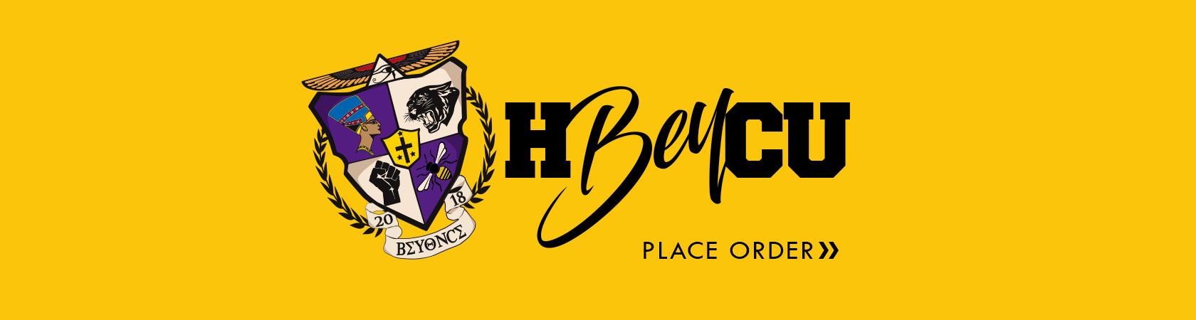 Place Order Banner -  Beta Delta Kappa Shield Design