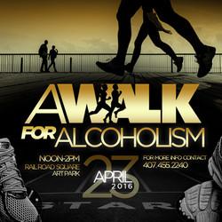 A Walk For Alcoholism Ad