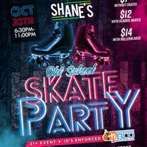 Sunday Night Old School Skate Party Flye