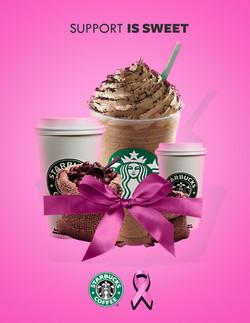 Starbucks Goes Pink Ad 1