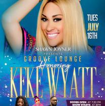 Groove Lounge Keke Wyatt Flyer Design Si