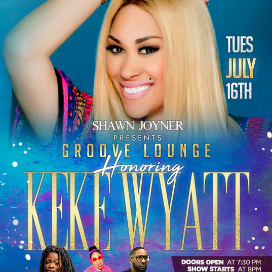 Groove Lounge Keke Wyatt Flyer Design Si