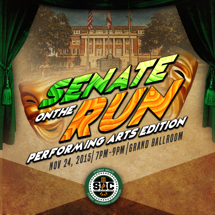 Senate On The Run Performing Arts Edition
