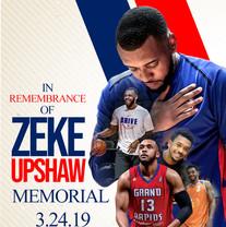 Zeke Upshaw Foundation Memorial Flyer De