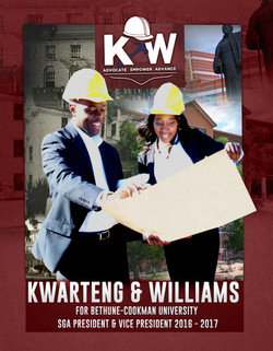 Nana Kwarteng Campaign Big Poster Red