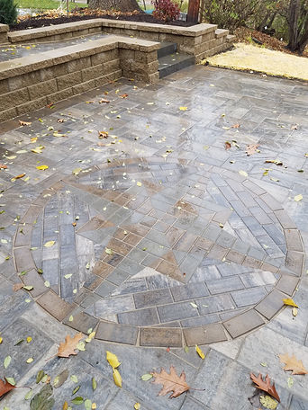 Custom Paver Compass