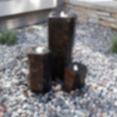 Basalt Pillar Water Feature