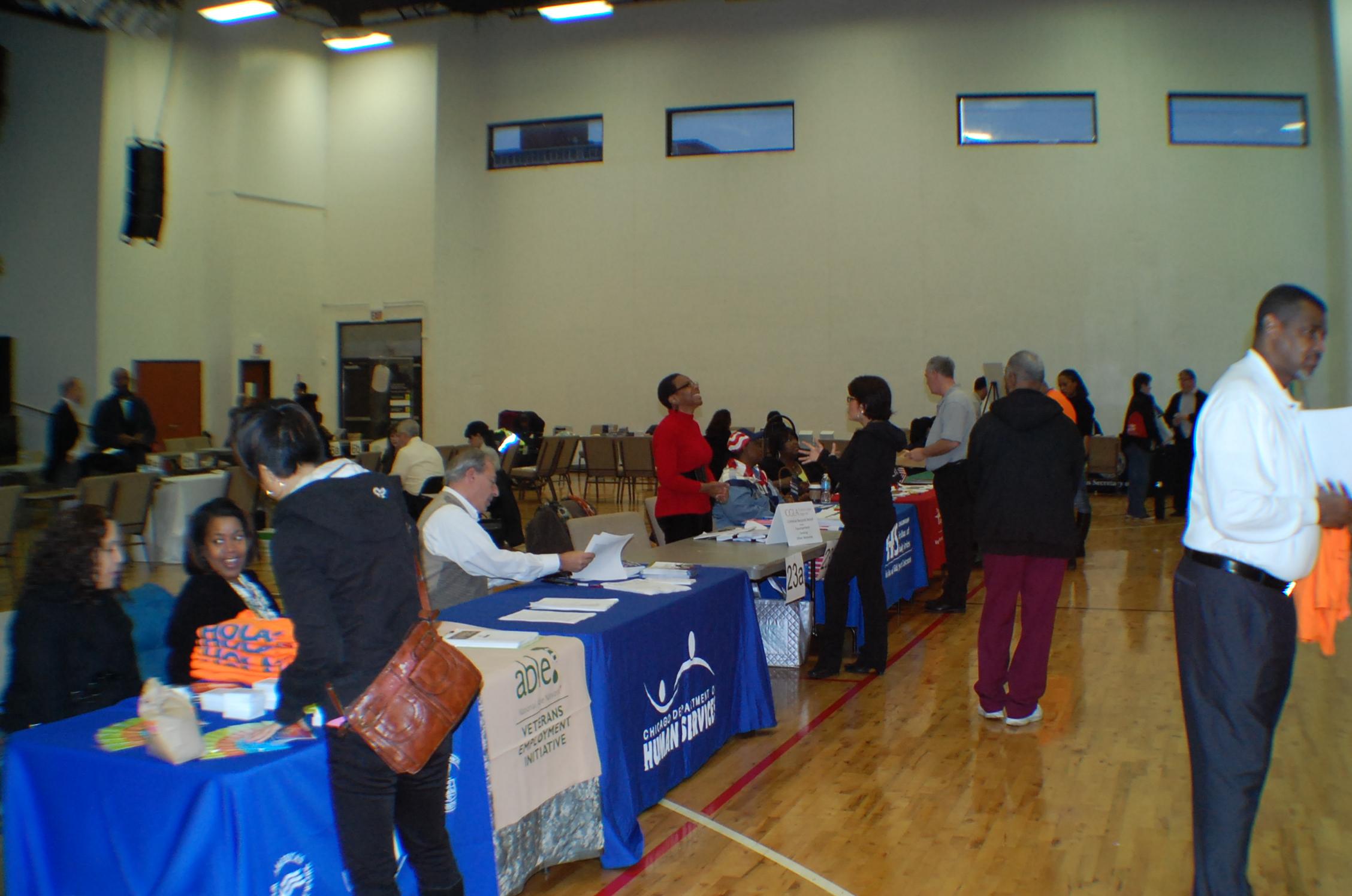 Resource Fair at JLM