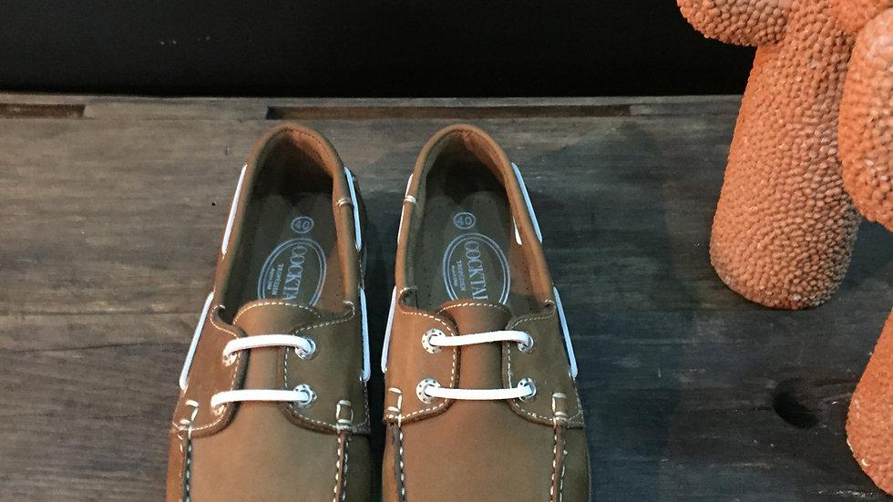 Chaussure Bateau nubuck mariron clair