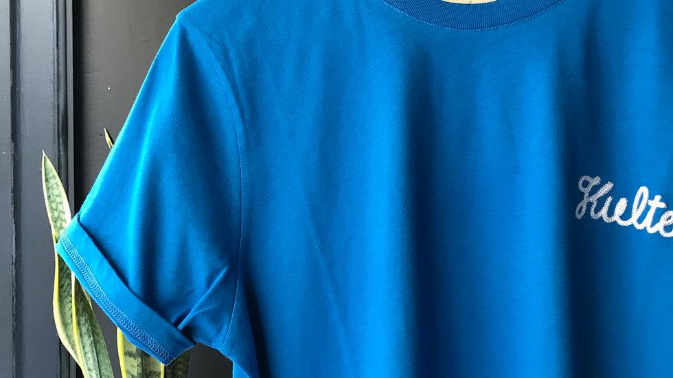 T-shirt Unisexe   Bleu Kulte