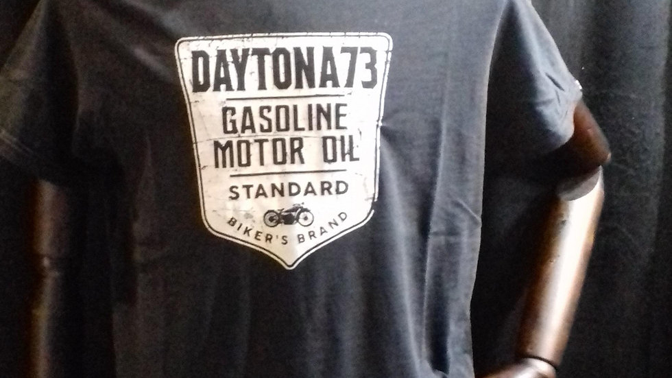 Tee shirt  daytona73  gazol  black