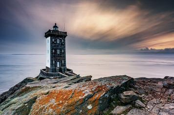 Kermorvan Lighthouse - Sunset
