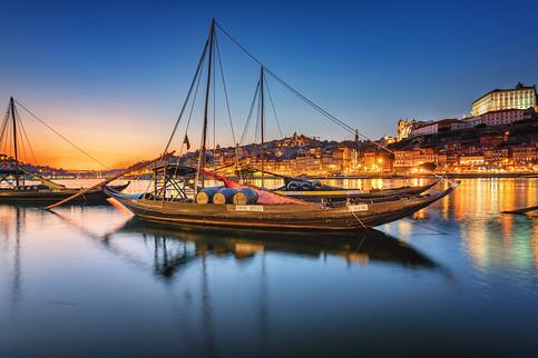 Douro River - Blue hour