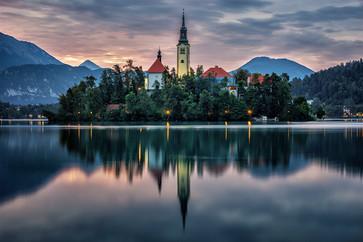 Lake Bled - Sunrise
