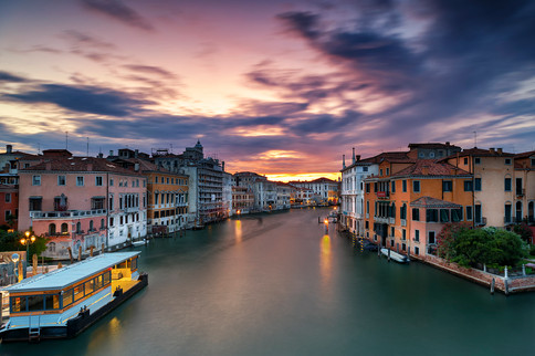 Grand Canal - Sunset