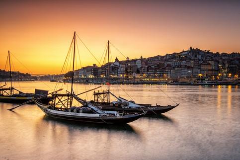 Douro River - Sunset