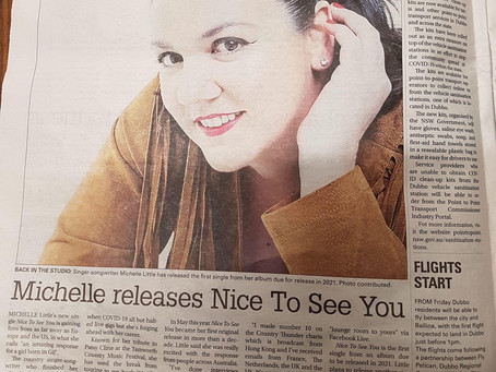 Thanks to Faye Wheeler for this article in The Daily Liberal