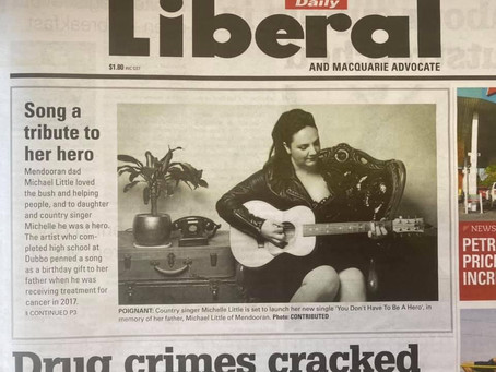 """""""Song A Tribute To Her Hero"""" - Daily Liberal Jan 21st 2021"""