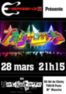 La fanfare funk fait Emergenza au Backstage le 28 mars 2015 à 21h15